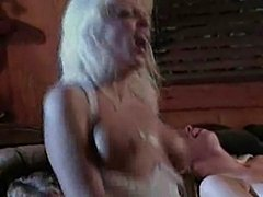 Julie Meadows and blond friends get cocked