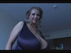Hot  Milf With very very Big Natural Boobs