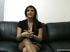 Pretty girl does casting couch hardcore