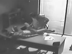 Boss fucking her secretary on hidden cam