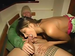 Sahara Knite Fucks On A Boat In Public