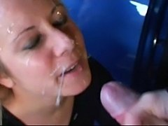 Car Hoe Toying Slits Before Banging & Facializing