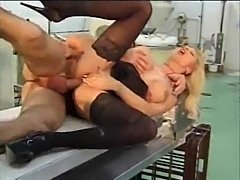 Baker fucks a blonde with big tits