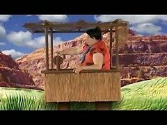 Wilma Flintstone and Betty Rubble fuck