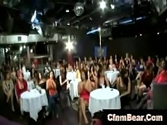 Cfnm babes face and tits jizzed by stripper at cfnm club  free