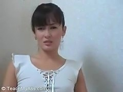 Jacqueline learn how to make anal sex