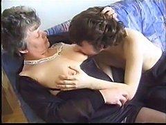 Granny and a boy