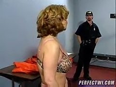 Mature woman was abused in state prison