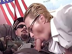 Captain America would like to fuck his strict secretary in office