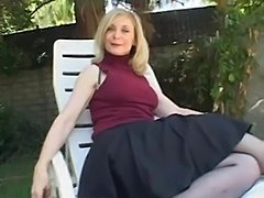Watch Girl doing Milf in Nina Hartley Gets Nailed On The Back Patio