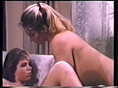 Ali Moore goes lesbian with mature woman