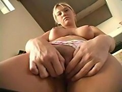 Alison showing her tight pussy