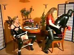 Mistress fucks heer male and female slaves best scenes  free