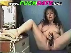 Mature lady toying free