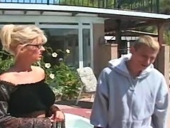 Hot Milf Vikki gets fucked at the pool
