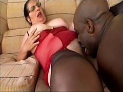 Mature grandam latina renata hungry long cock ebony man  free