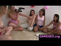 Truth or dare sexgame with real next door girls  free