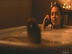 Luscious Jessica Alba bares all in a bathtub