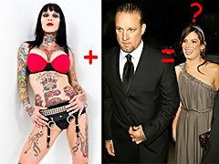 Tattoed Michelle Bombshell Mistress of Sandra Bullock's husband!