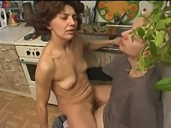Mature and son fucked  free