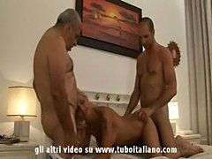 Italian blond fucked by his bull 2  free