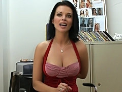 What else do you want to see? Pussy! Really? (Bang Bros » Backroom MILF)