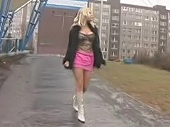 Busty beautiful blonde czech teen, fucked & spermed!