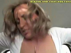 White Cougar Fucked By Black Teen