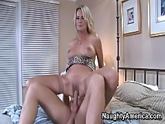 Young Guy Served By Hot MILF