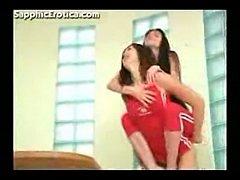 Lesbians erotic kissing