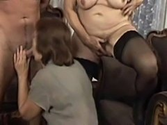 Big Butt Bangin Granny Orgy