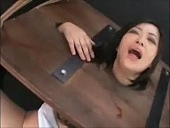 Thick bush asian made to orgasm  free