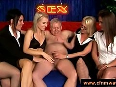 cfnm talkshow with naked guest