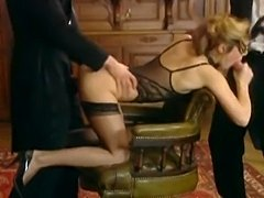 Hot Sexy Gang bang with Laure Sainclair