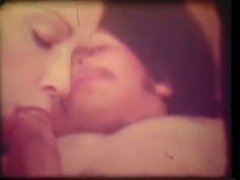 Vintage: 70s Interracial Hot Blonde with her Boyfriend