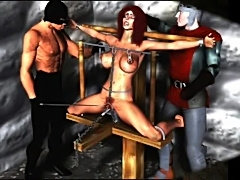 Erotic evil bondage artwork  free