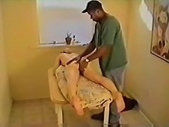 Massaging And Fucking Dirty Blonde