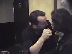 Amateur Couple in bar