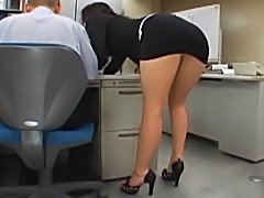 Japanese office girl