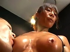 middle aged muscle woman mature