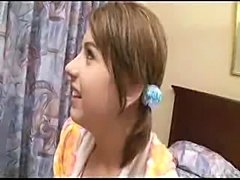 Crazy Japanese tourist takes Lexi Belle to hotel andgive her a cream pie. Censored. Rate or comment to seemore like this.