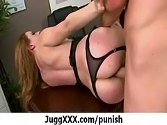 Super hot pornstar punish by bi ... free