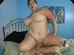 Plumper Brandy with big tits is a jiggle of a load to fuck