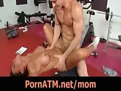It's a no brainer fucking the milf trainer movie 4  free