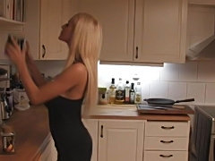 Swedish young couple fucking at home