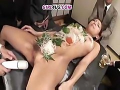 Cute Asian babe gets fucked by one of her horny college mates
