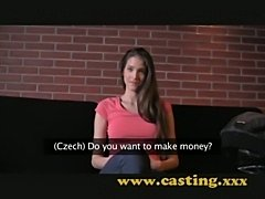 Casting - fashion model resorts to porn  free