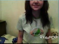 Delicinha mostrando o cuzinho dela na webcam