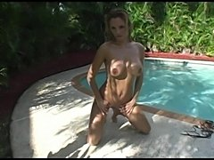Dani Poolside Jerk off Instruction