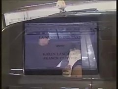 karen lancaume has sex in back of a taxi with a stranger while another stranger watches.  This is a hot scene!